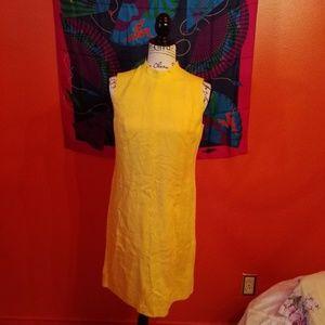 Talbots linen dress